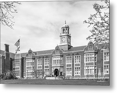 Towson University Stephens Hall Metal Print by University Icons