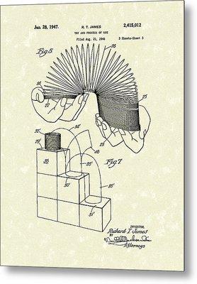 Toy 1947 Patent Art Metal Print