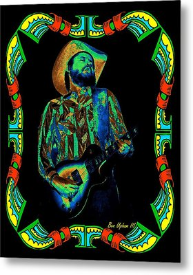 Toy Caldwell Framed #1 Metal Print by Ben Upham