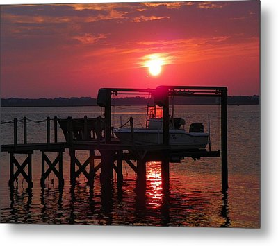 Toy On Hold Metal Print by Karen Wiles