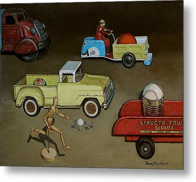 Toy Parade Metal Print by Doug Strickland