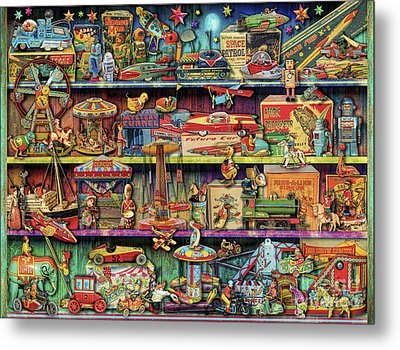 Toy Wonderama Metal Print