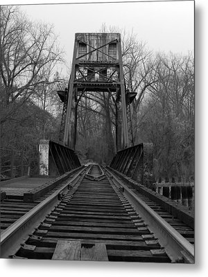 Tracking The Past Metal Print by Kelvin Booker