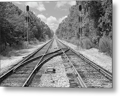 Metal Print featuring the photograph Tracks 2 by Mike McGlothlen