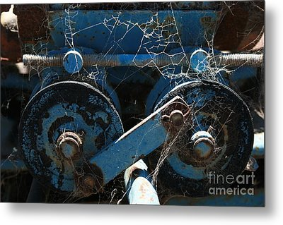 Tractor Engine IIi Metal Print