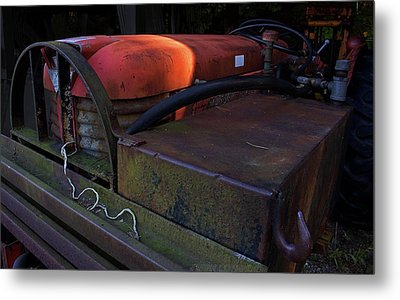 Tractor Metal Print by Jerry LoFaro