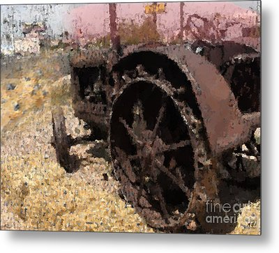 Tractor Metal Print by Kelly McManus
