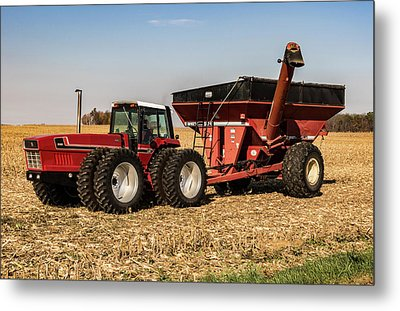 Tractor Metal Print by William Morris