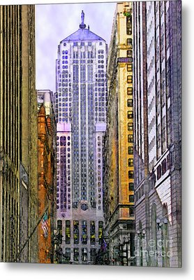 Trading Places Metal Print