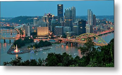 Traditional Panoramic Metal Print by Frozen in Time Fine Art Photography