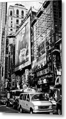Traffic Jungle Metal Print by Darren Scicluna