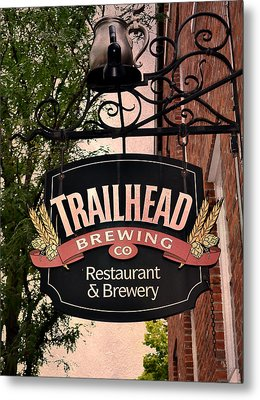 Trailhead Brewing Company Metal Print