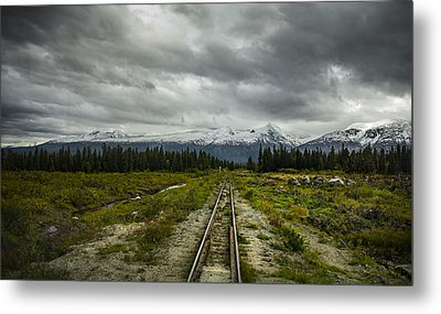 Train To Nowhere  Metal Print by Robin Williams