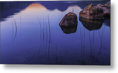 Tranquil In Blue   Metal Print by Thomas Schoeller