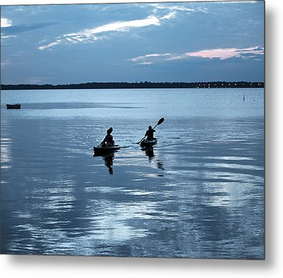 Tranquil Journey Metal Print by Anthony Baatz