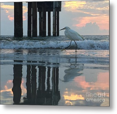 Tranquil Reflections Metal Print by LeeAnn Kendall