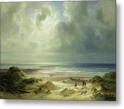 Tranquil Sea Metal Print by Carl Morgenstern
