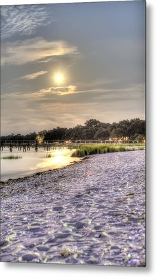Tranquil Southern Night Metal Print