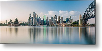 Tranquil Sydney Mornings Metal Print