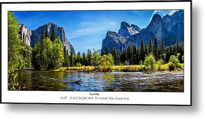 Tranquil Valley Poster Print Metal Print by Az Jackson