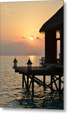Tranquility Metal Print by Corinne Rhode