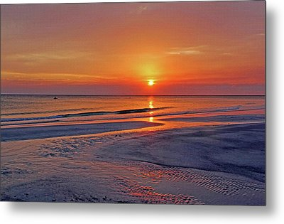 Tranquility - Florida Sunset Metal Print by HH Photography of Florida