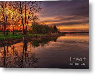 Tranquility Metal Print by Ian McGregor