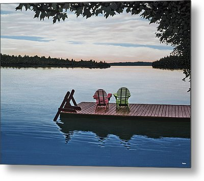 Tranquility Metal Print by Kenneth M  Kirsch