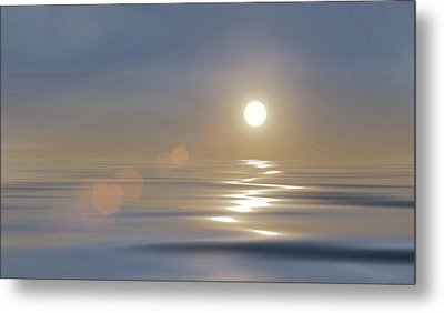 Tranquillity Metal Print by Wim Lanclus