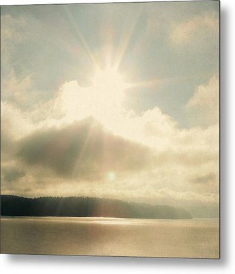 Metal Print featuring the photograph Transcend by Sally Banfill