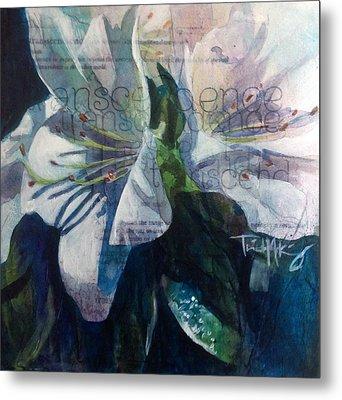 Transcendence - Azalea Metal Print by Trish McKinney