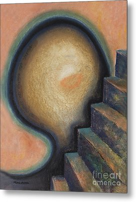 Metal Print featuring the painting Transcendence by Mini Arora