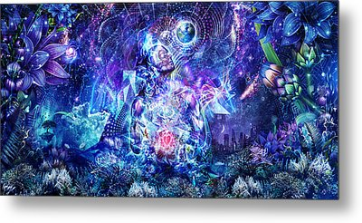 Transcension Metal Print by Cameron Gray
