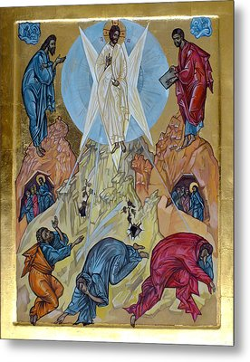 Transfiguration Metal Print by Filip Mihail