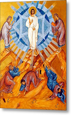 Transfiguration Of Christ Metal Print