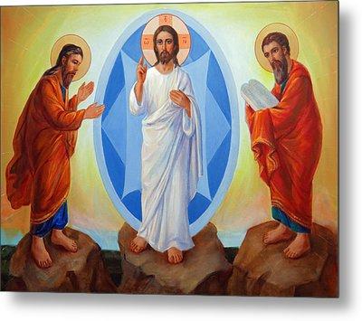 Transfiguration Of Jesus Metal Print by Svitozar Nenyuk