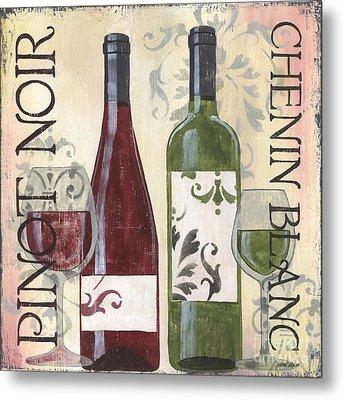 Transitional Wine 1 Metal Print by Debbie DeWitt