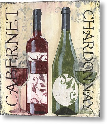Transitional Wine 2 Metal Print by Debbie DeWitt
