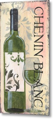 Transitional Wine Chenin Blanc Metal Print by Debbie DeWitt
