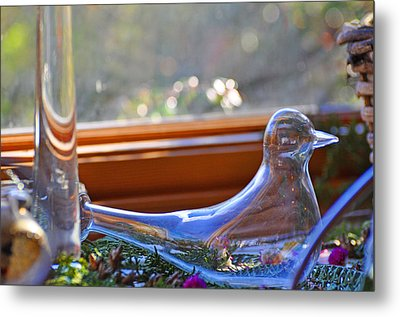 Transparent Peace Metal Print by Peter  McIntosh