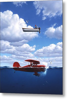 Transportation Metal Print by Jerry LoFaro