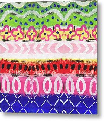 Southwest Jubilee- Art By Linda Woods Metal Print