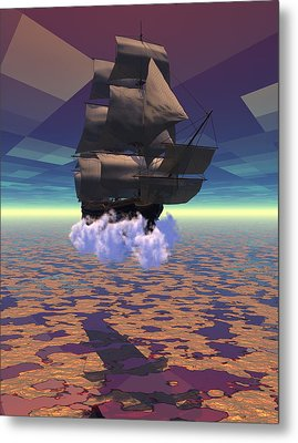Travel In Another Dimension Metal Print by Claude McCoy