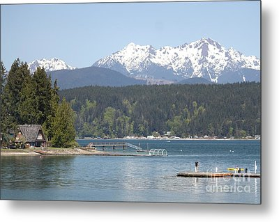Traveler's Day At Alderbrook Metal Print by Terri Thompson