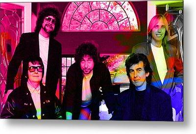 Traveling Wilburys Metal Print