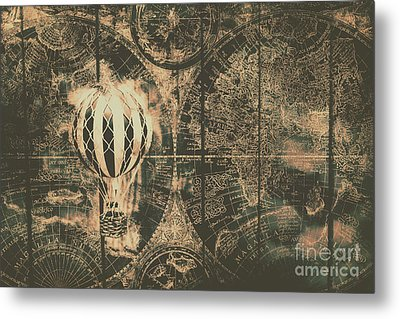 Travelling The Old World Metal Print