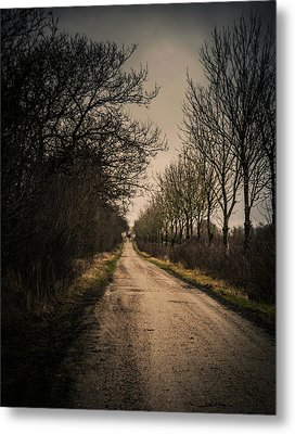 Metal Print featuring the photograph Treadmill by Odd Jeppesen