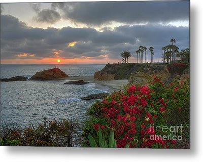 Metal Print featuring the photograph Treasure Island Beach Shoreline by Eddie Yerkish