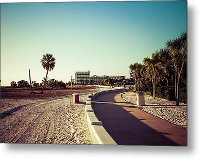 Metal Print featuring the photograph Treasure Island Beach Trail by Joel Witmeyer