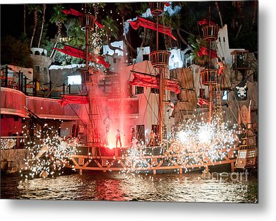 Treasure Island Pirates Metal Print by Andy Smy
